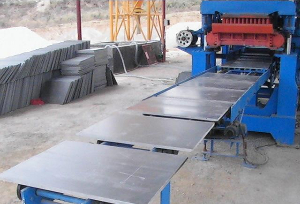PVC pallets for Pallets feeding machine