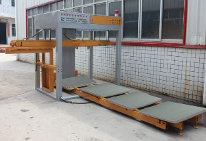 Automatic PVC pallets loading machine